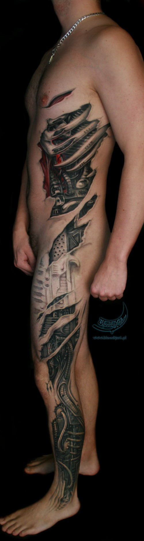 Bionic Bioimplantate 3d Gesucht Tattoo Studios Tattooscout